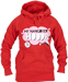 VIew Red Hangover Hoody